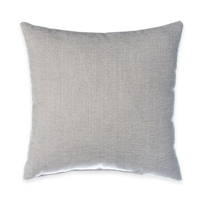 Alternate image 1 for Glenna Jean Blossom Square Throw Pillow in Silver