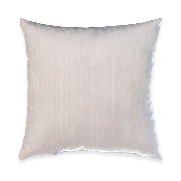 Alternate image 1 for Glenna Jean Blossom Velvet Throw Pillow in White
