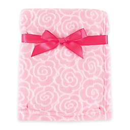 BabyVision® Luvable Friends® Rose Coral Fleece Blanket in Pink