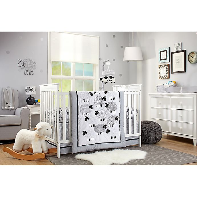 Nojo Good Night Sheep Crib Bedding