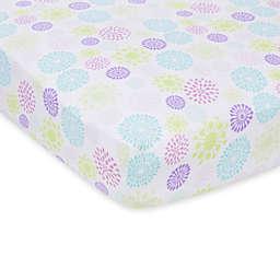 MiracleWare Colorful Bursts Muslin Crib Sheet