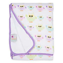 MiracleWare Owls Muslin Serenity Blanket