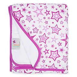 MiracleWare Radiant Orchid Stars Muslin Serenity Blanket