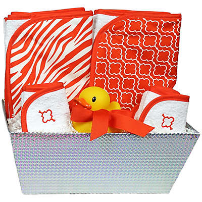 6-Piece Bath Set in Orange