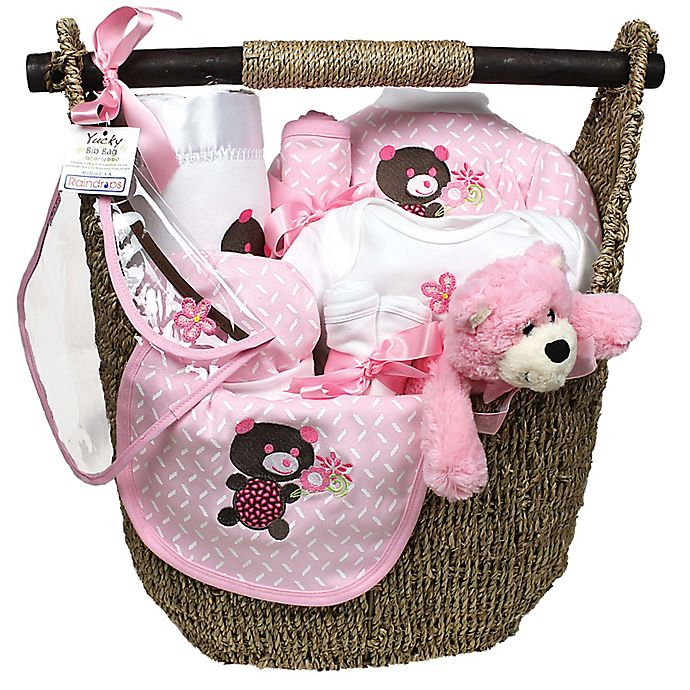 Alternate image 1 for Welcome Home Baby 13-Piece Gift Set in Pink