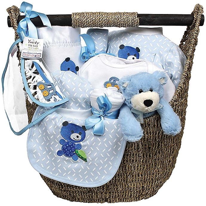 Alternate image 1 for Welcome Home Baby 13-Piece Gift Set in Blue