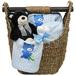 Welcome Home Baby 9-Piece Gift Set in Blue