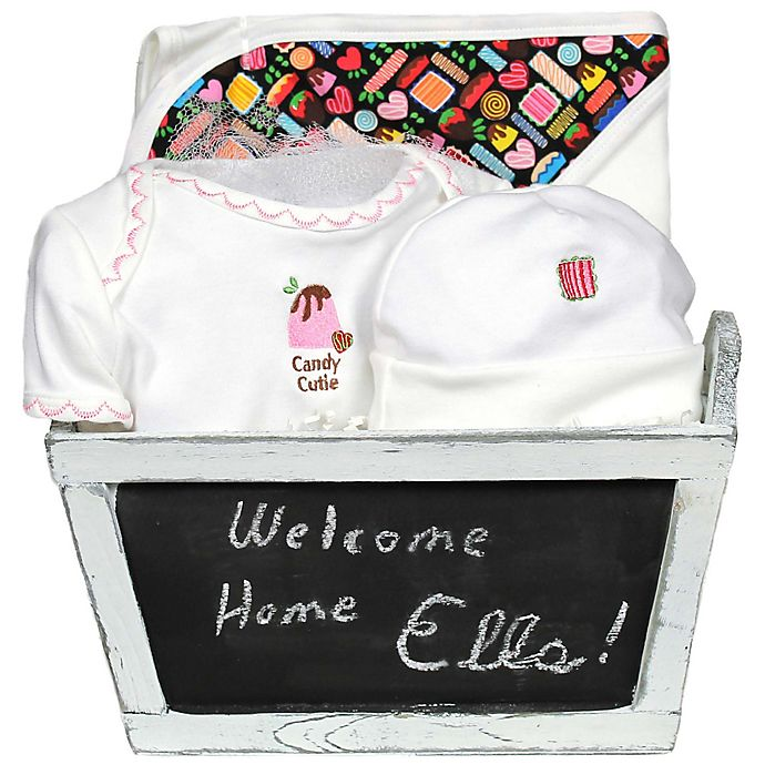 Alternate image 1 for Candy Cutie 4-Piece Gift Set in Pink