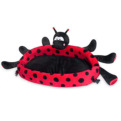 Lulyboo® Lulyzoo Ladybug Toddler Lounge Play Mat