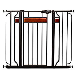 Regalo® Home Accents Extra-Tall Walk-Through Gate in Black