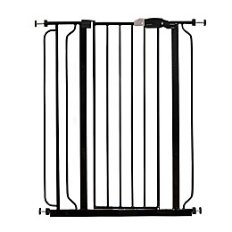 Regalo® Easy-Step Extra-Tall Walk-Through Gate in Black