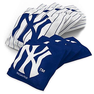 MLB 16 oz. Regulation Cornhole Bean Bags in Black (Set of 4)