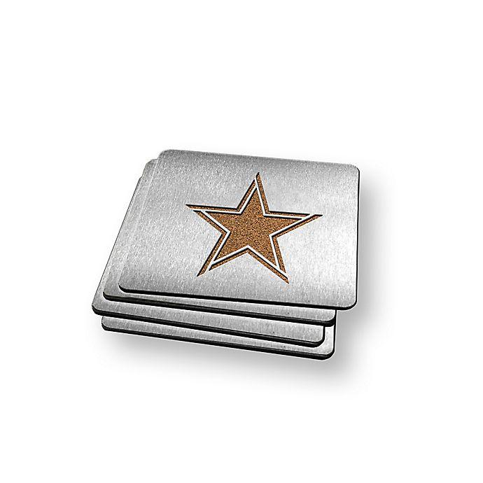 Alternate image 1 for NFL Dallas Cowboys Boasters (Set of 4)