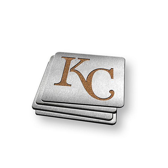 Alternate image 1 for MLB Kansas City Royals Boasters (Set of 4)