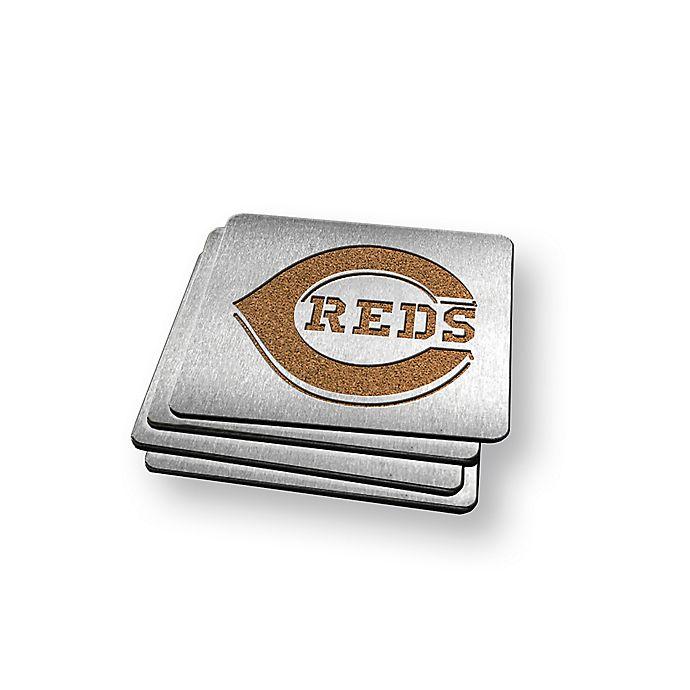 Alternate image 1 for MLB Cincinnati Reds Boasters (Set of 4)