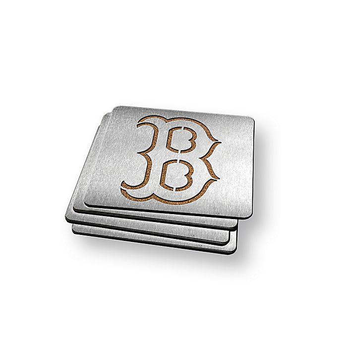 Alternate image 1 for MLB Boston Red Sox Boasters (Set of 4)