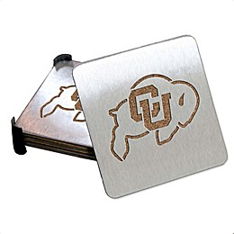 University of Colorado 4-Piece Boaster Coasters Set
