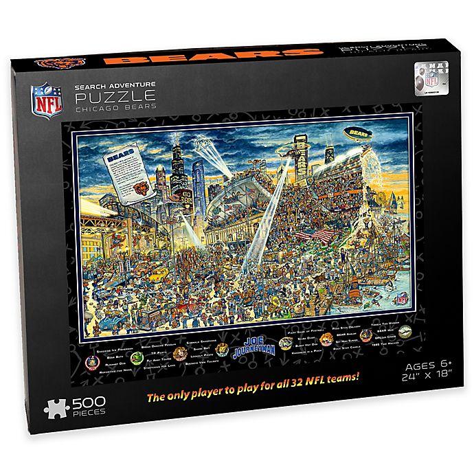 Alternate image 1 for NFL Chicago Bears Joe Journeyman 500-Piece Puzzle