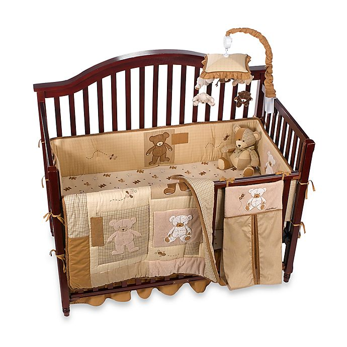 Teddy Bear 100 Cotton Crib Bedding And Accessories By Ed Bauer