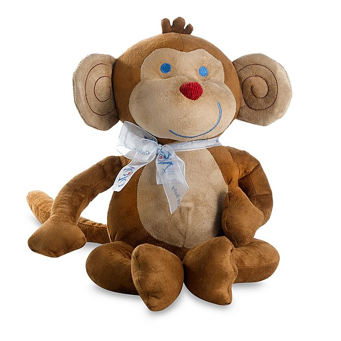 Jungle Babies Milton The Monkey Plush Toy By Nojo Bed Bath Beyond
