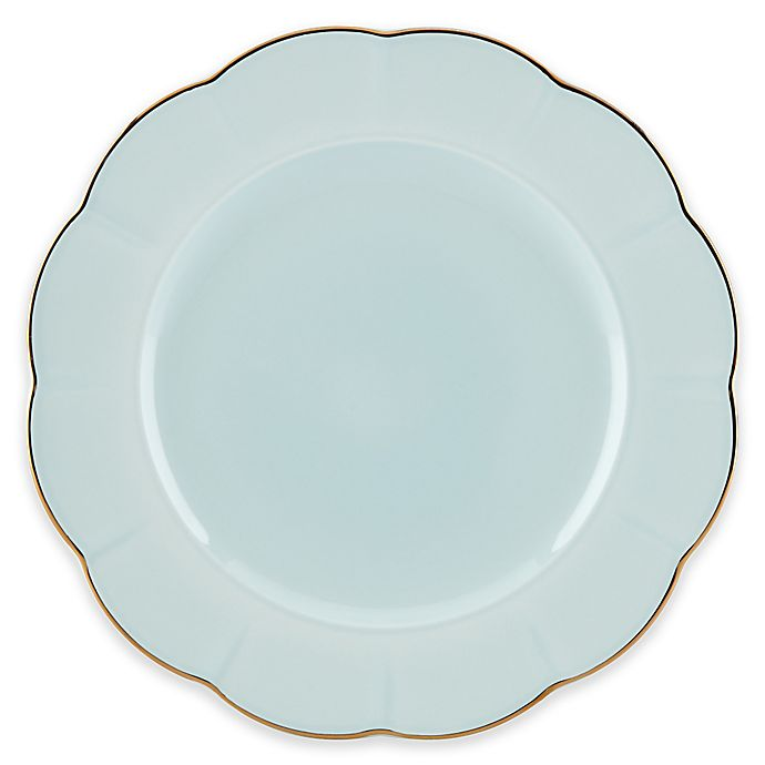 Alternate image 1 for Marchesa by Lenox® Shades of Teal Dinner Plate