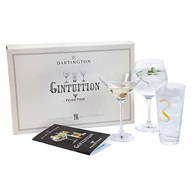 Dartington Crystal 3-Piece Gintuition Gift Set