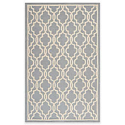 Safavieh Cambridge 5-Foot x 8-Foot Area Rug in Silver/Ivory