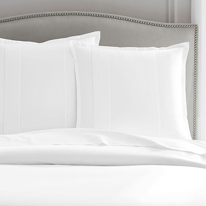 Alternate image 1 for Wamsutta® Dream Zone® Dream Bed 400-Thread-Count European Pillow Sham in White