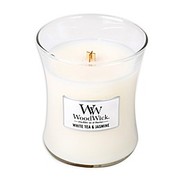 WoodWick® White Tea & Jasmine 10 oz. Jar Candle