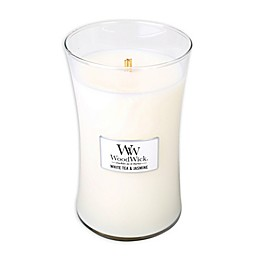 WoodWick® White Tea & Jasmine 22 oz. Jar Candle