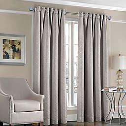 Designers' Select™ Satin Diamond Rod Pocket/Back Tab Window Curtain Panel