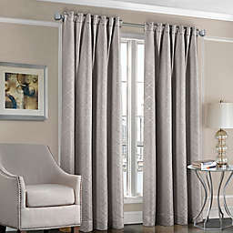 Designers' Select™ Satin Diamond Rod Pocket/Back Tab Window Curtain Panel
