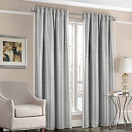 Designers' Select™ Satin Stripe Rod Pocket/Back Tab Window Curtain Panel