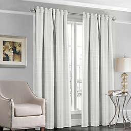 Designers' Select™ Satin Stripe Rod Pocket/Back Tab Window Curtain Panel