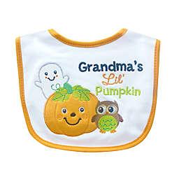 """""""Grandma's Lil' Pumpkin"""" Halloween Bib"""