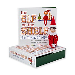 The Elf on the Shelf®: Christmas Tradition Spanish Language Book & Boy Scout Elf