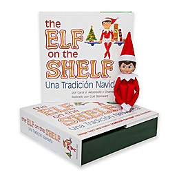The Elf on the Shelf®: Christmas Tradition Spanish Language Book & Girl Scout Elf