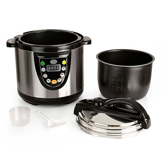 Alternate image 1 for BergHOFF 6.3 qt. Electric Pressure Cooker