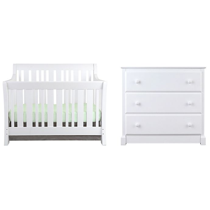 Alternate image 1 for Nursery Smart Darby Collection in Pure White