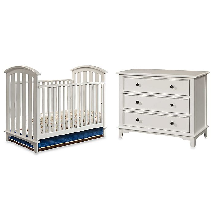 Alternate image 1 for Westwood Design Tribeca Nursery Furniture in White