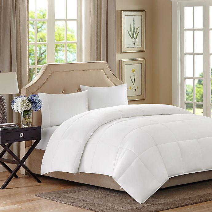 Alternate image 1 for Sleep Philosophy Benton  Down Alternative King Comforter in White