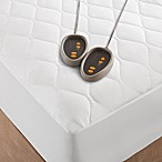 Beautyrest® Microfiber Heated King Mattress Pad in White