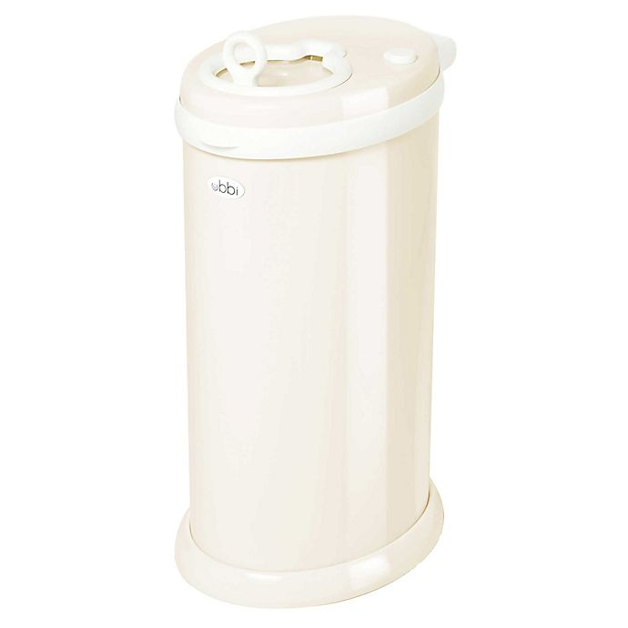 Alternate image 1 for Ubbi® Diaper Pail in Ivory