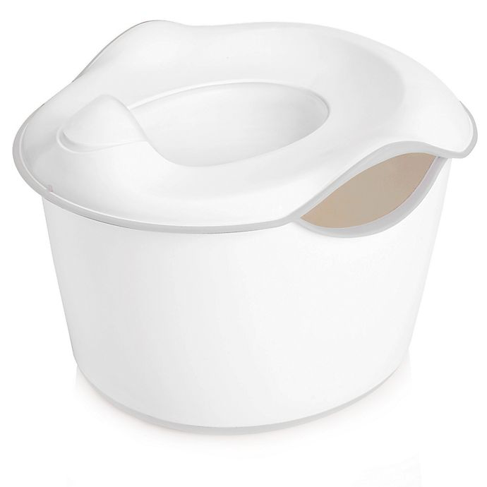 Alternate image 1 for Ubbi® 3-in-1 Potty in White/Grey