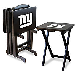 NFL New York Giants TV Tray with Stand (Set of 4)