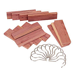 12-Pack Milled Cedar Hang Up Set