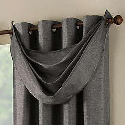 Paradise Waterfall Window Valance in Pepper