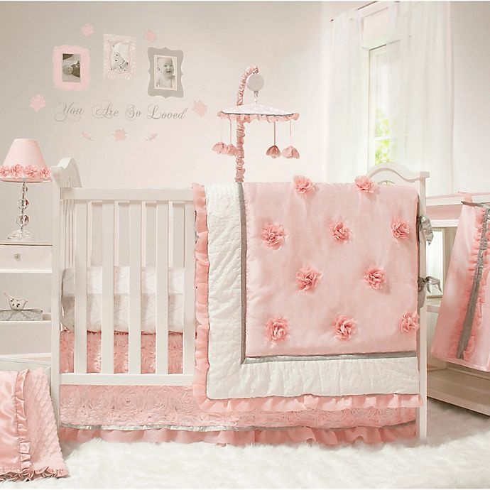 Alternate image 1 for The PeanutShell™ Arianna 4-Piece Crib Bedding Set