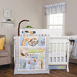 Trend Lab Jungle Fun Animal 6 Piece Crib Bedding Set