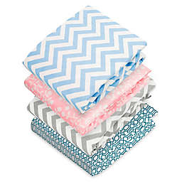 kushies® Flannel Portable Play Pen Fitted Sheet